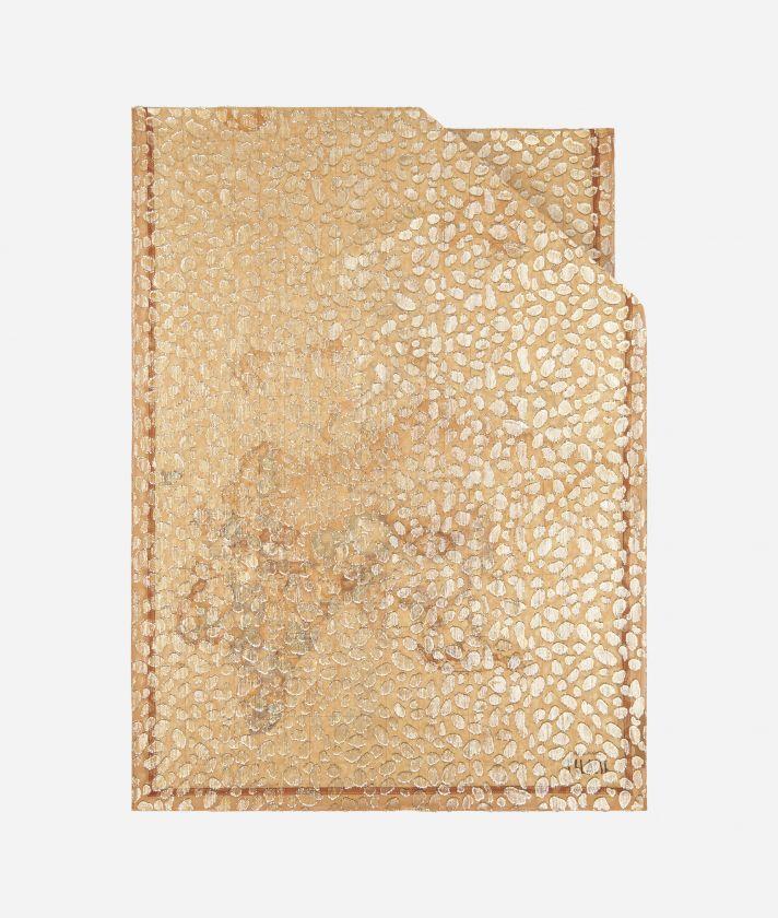 Stola Geo Maculato 65 x 190 Naturale