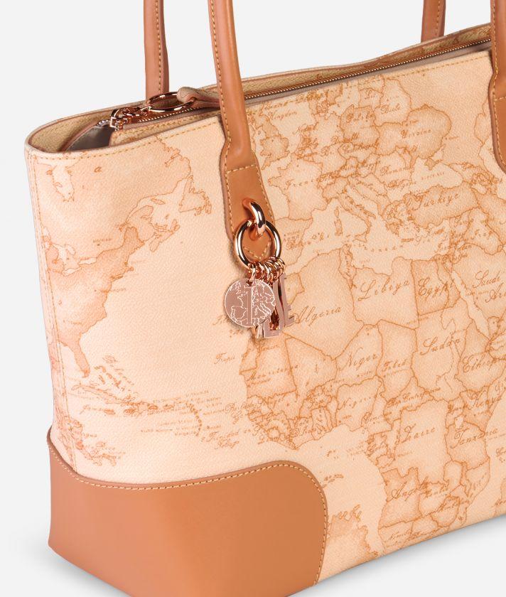 Geo Pesca Shopping Bag Orange