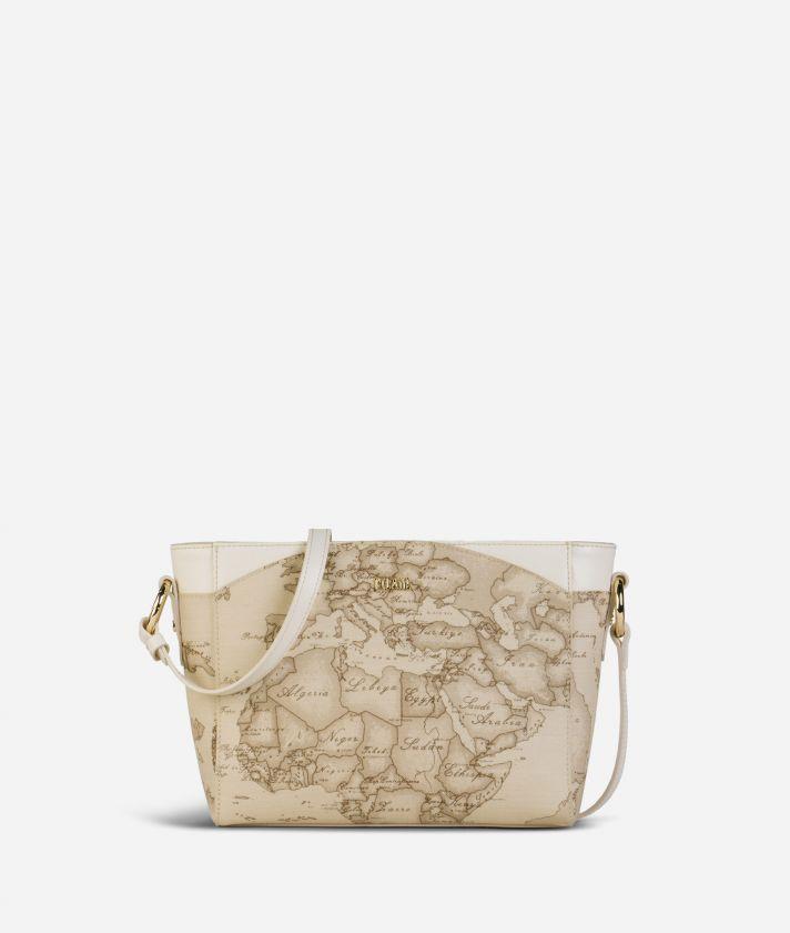 Geo Sahara Crossbody bag White