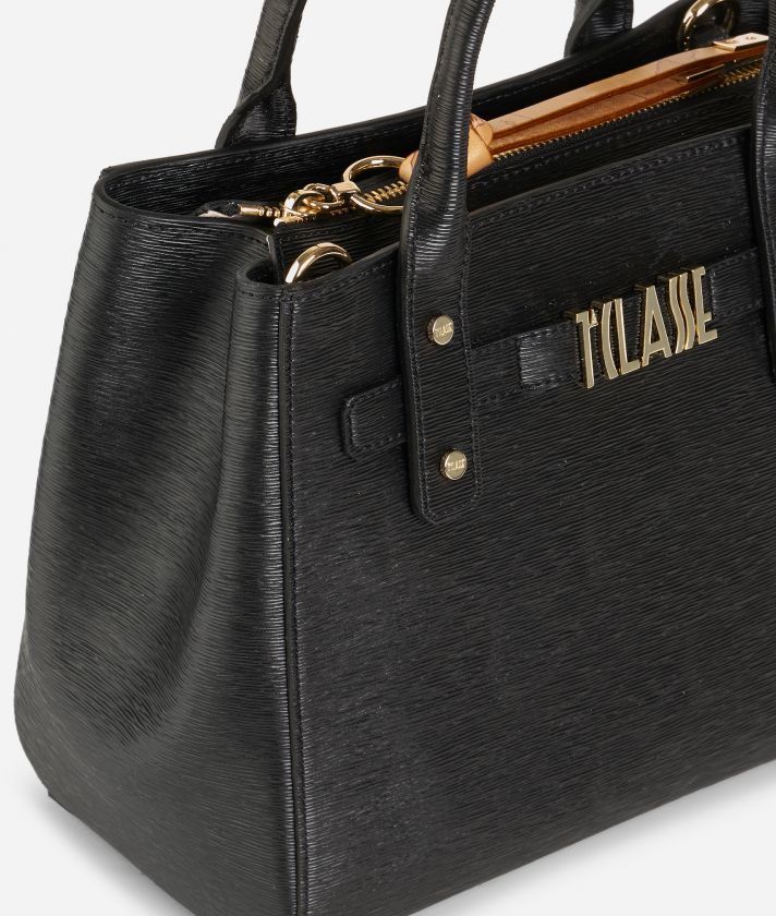Voyage Smile Small Handbag Black