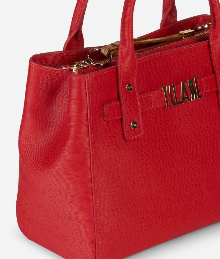 Voyage Smile Small Handbag Red
