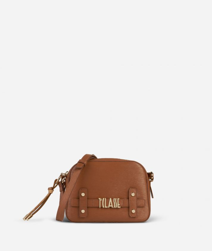 Voyage Smile Crossbody Bag Brown