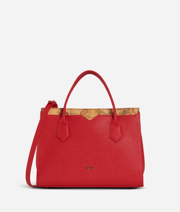 Medina City Medium Handbag Red