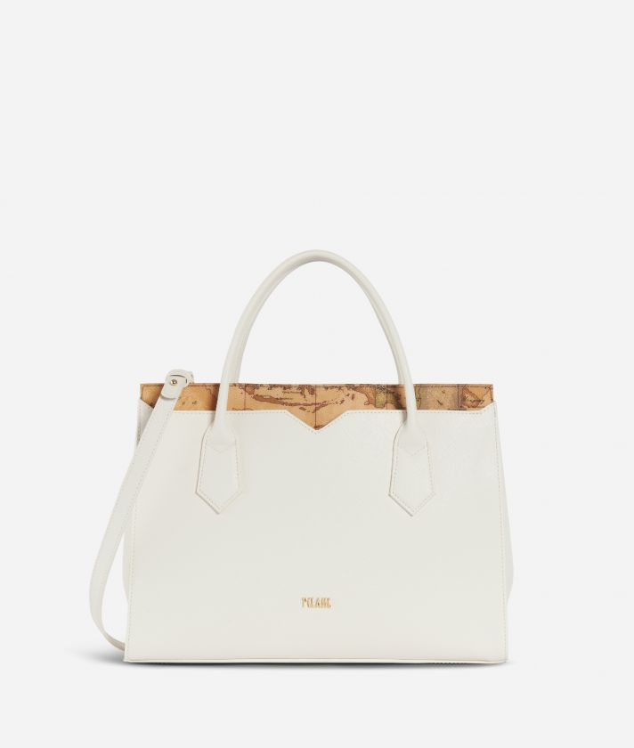 Medina City Medium Handbag White