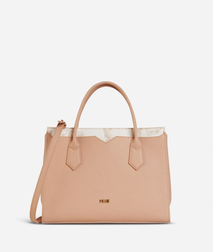 Medina City Medium Shopping Bag Beige