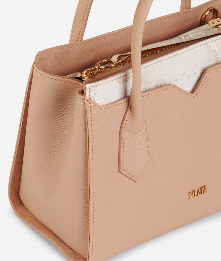 Medina City Small Shopping Bag Beige