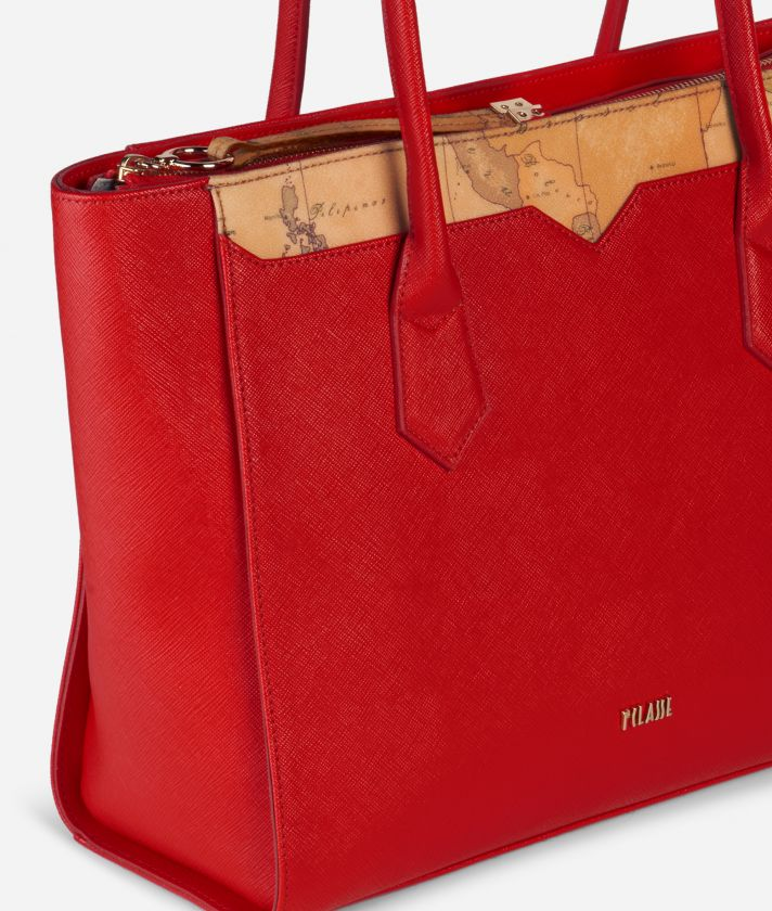 Medina City Big Shopping Bag Red