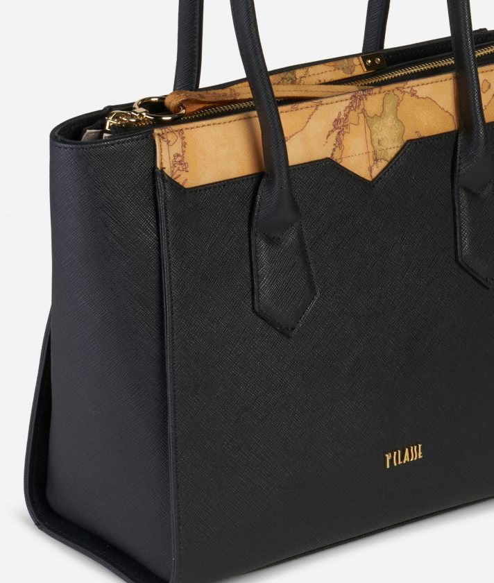 Medina City Medium Shopping Bag Black