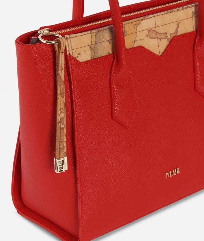 Medina City Medium Shopping Bag Red