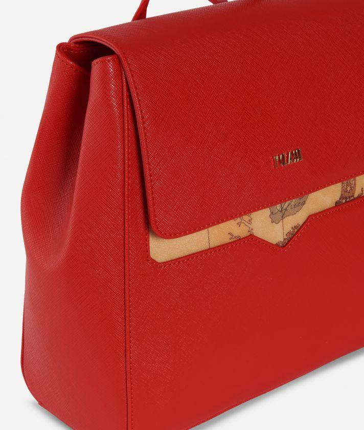 Medina City Backpack Red