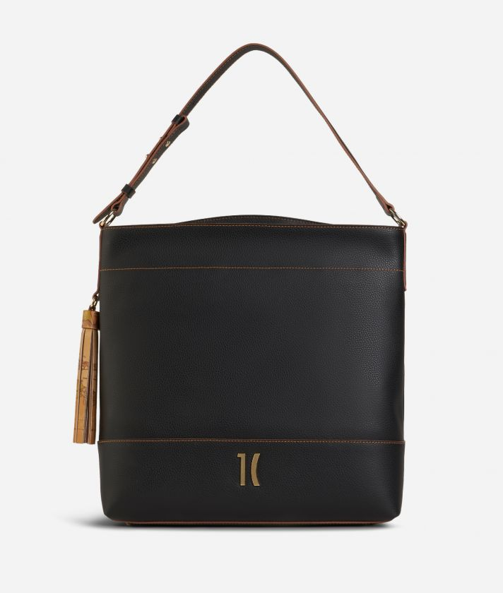 Praline Shoulder Bag Black