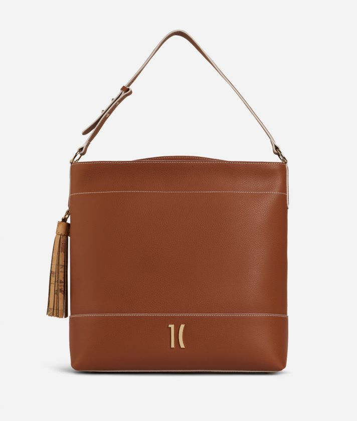 Praline Shoulder Bag Brown