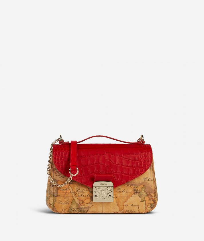 Jolie Bag Geo Classic Crossbody Bag Red