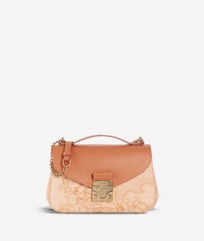 Jolie Bag Geo Pesca Crossbody Bag Orange