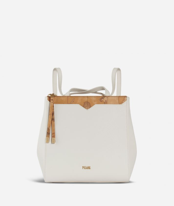 Medina City Backpack White