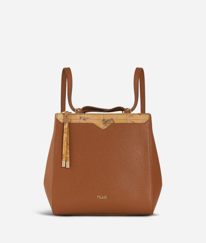Medina City Backpack Brown