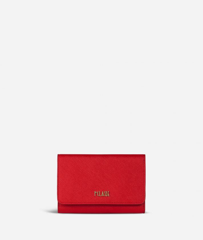 Medina City Bifolder Wallet Red