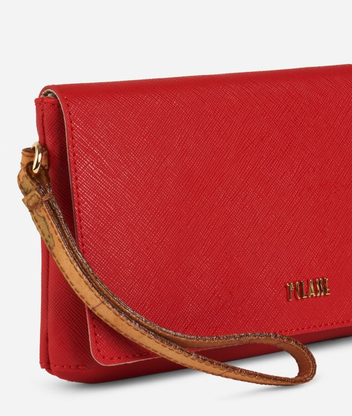 Medina City Clutch Red