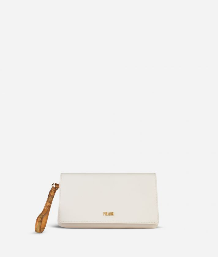 Medina City Clutch White
