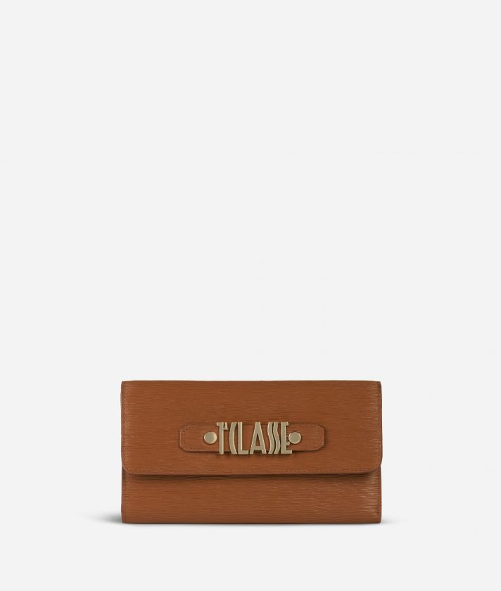 Voyage Smile Bifolder Wallet Brown