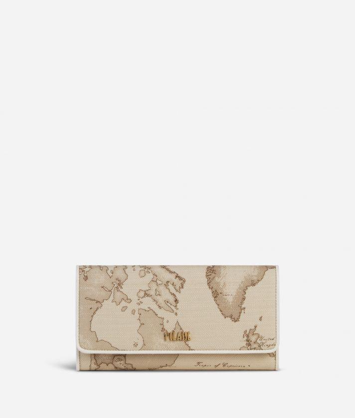 Geo Sahara Wallet White