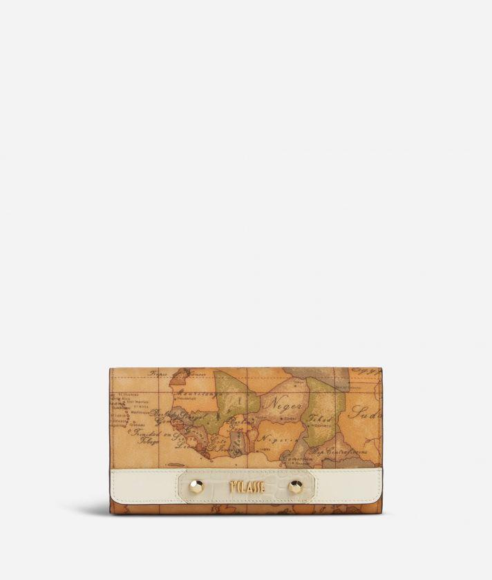 Charme Geo Wallet White