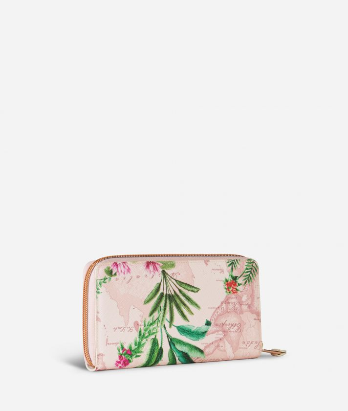 Oasis Zip-around Wallet Pink