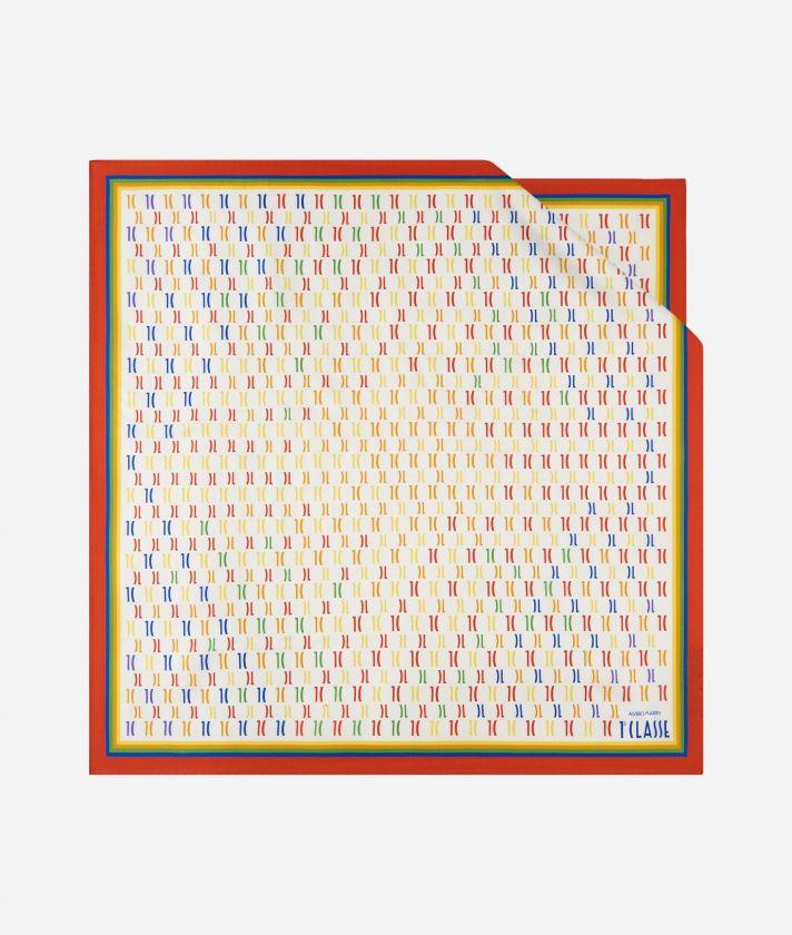 Monogram Rainbow Foulard 70 X 70 Multicolor