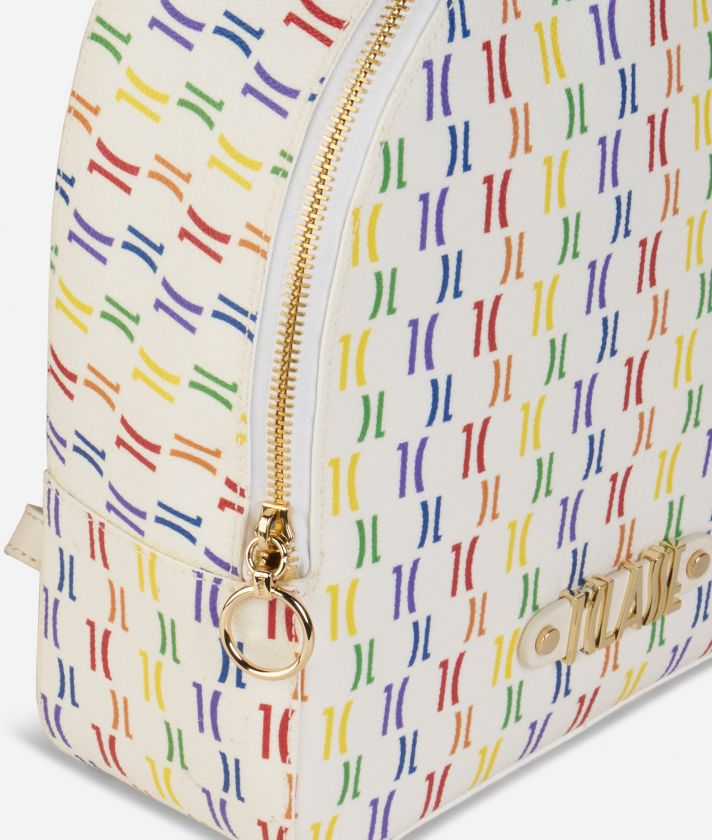 Monogram Rainbow Zaino Multicolor