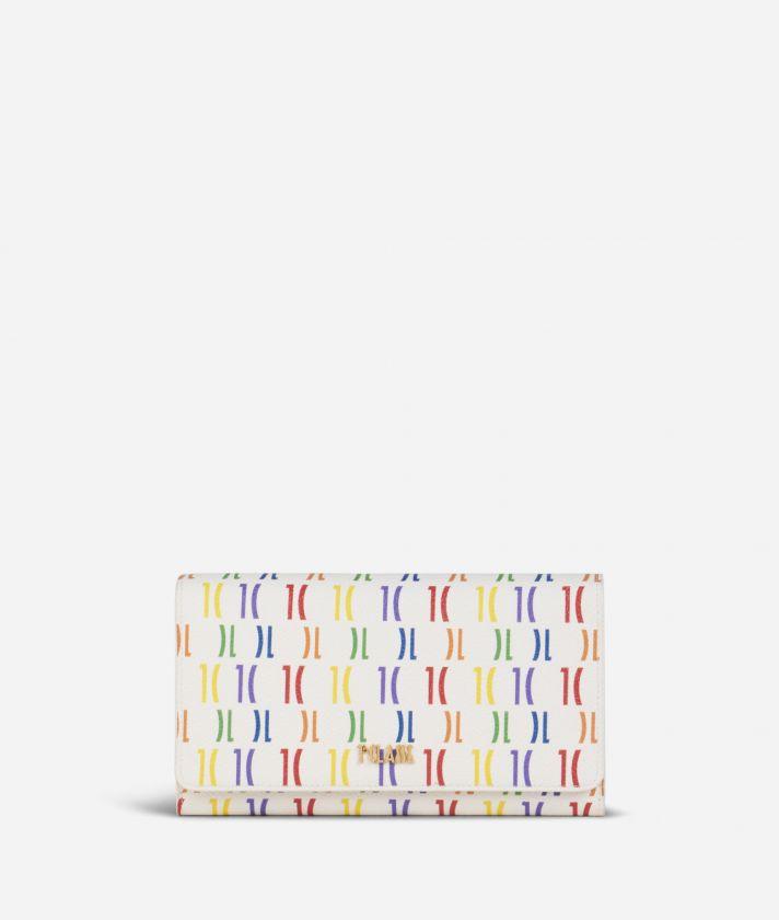 Monogram Rainbow Wallet Multicolor