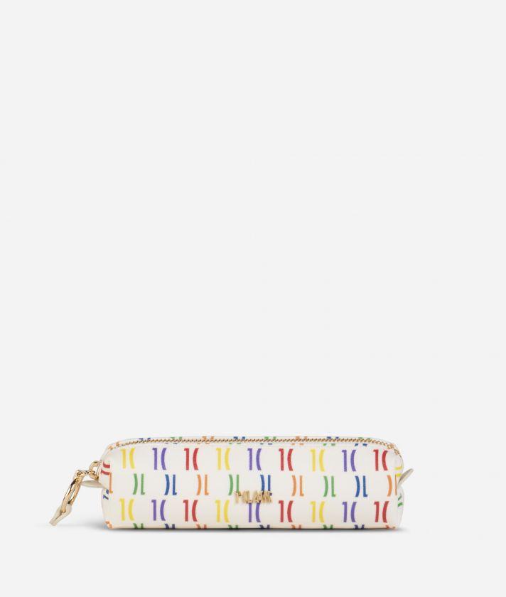 Monogram Rainbow Pencil case Multicolor