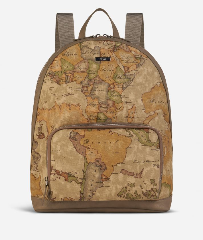 Backpack with Geo Classic print