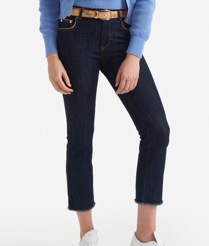 5-pockets denim Dark Blue