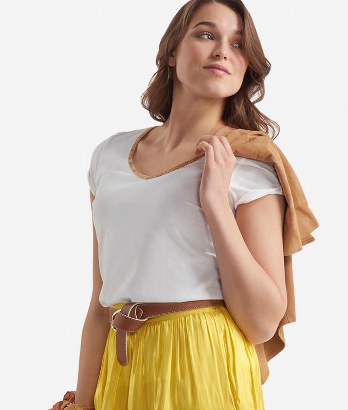 Jersey t-shirt White