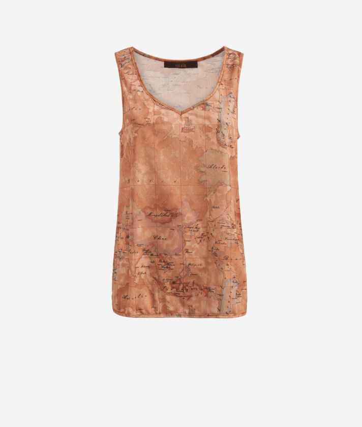 Tank top with Geo Classic print