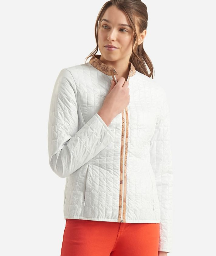 Donnavventura Padded jacket in light nylon White
