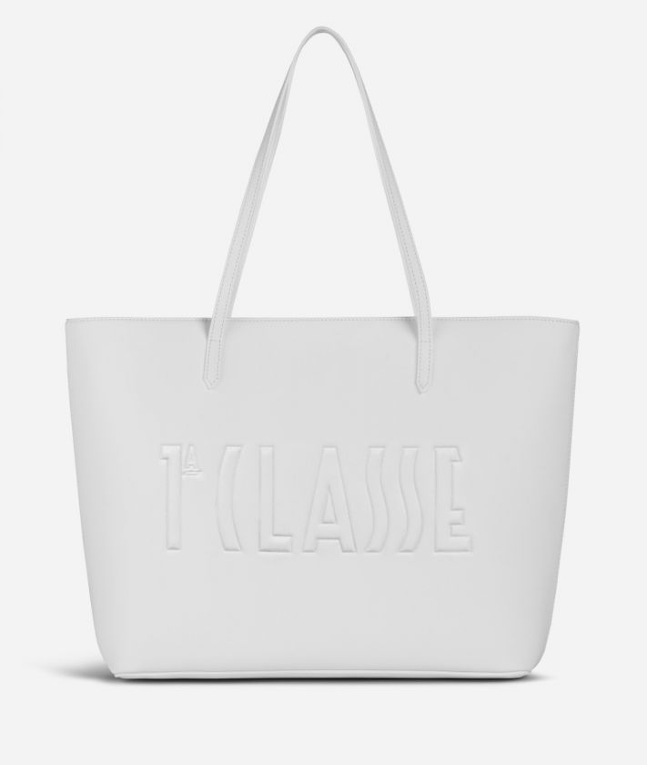 Summer Pop Shopping Bag White