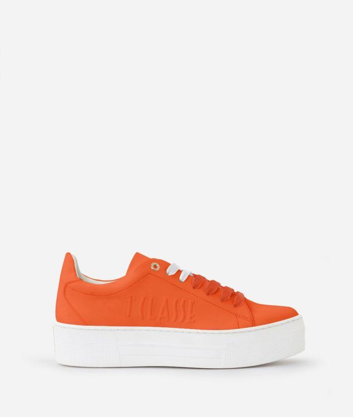 Summer Pop Sneakers Orange