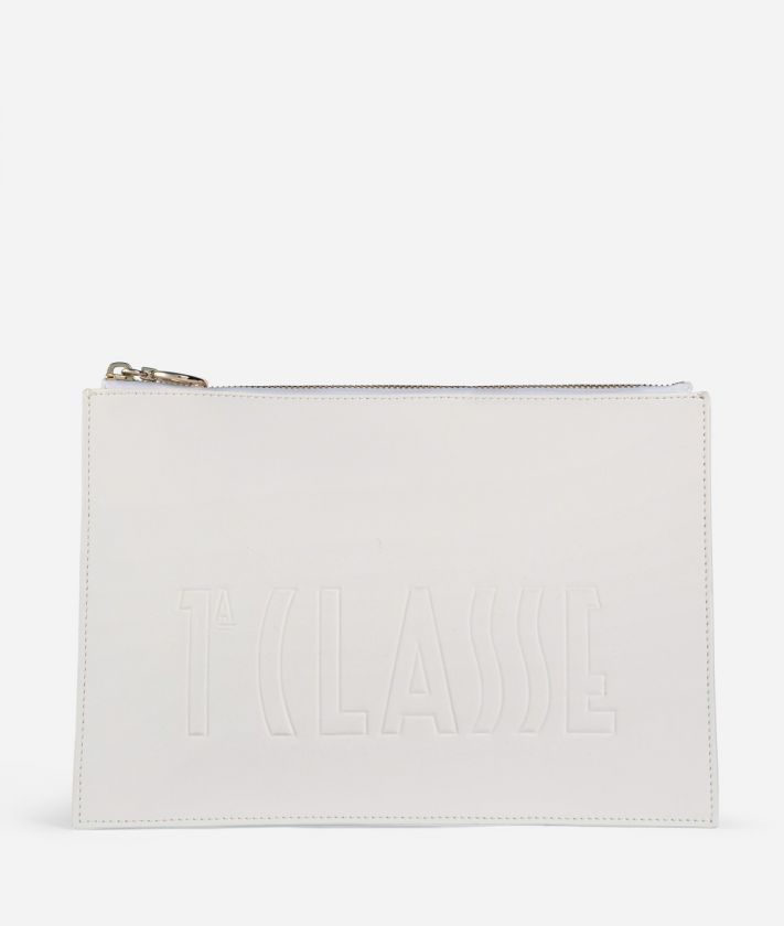 Summer Pop Pouch White