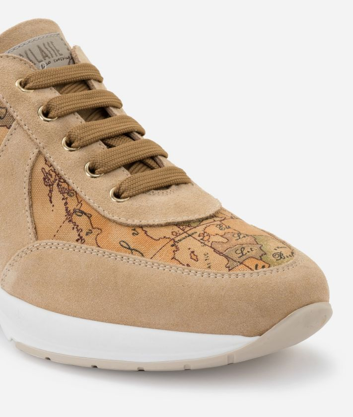 Geo Crossing Sneakers in Geo Classic print fabric