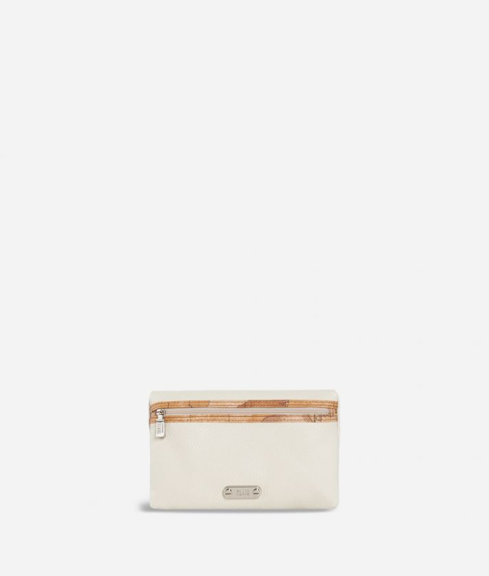 Make-up bag trimmed in Geo Classic fabric