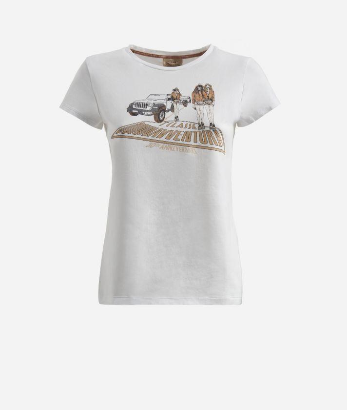 T-Shirt Donnavventura 30th Anniversary White
