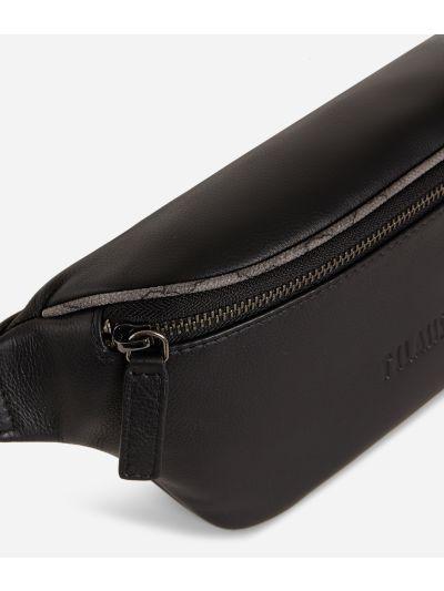 Belt bag leather black