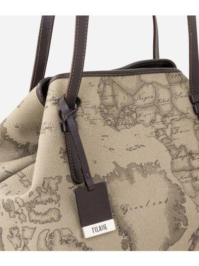 Geo Tortora Medium shoulder bag