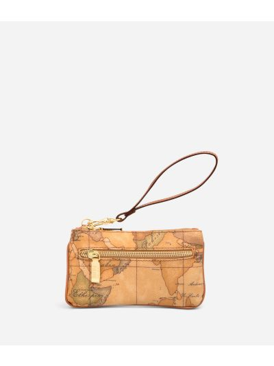 Geo Classic Clutch with wristlet