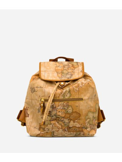 Geo Soft Backpack with front pocket