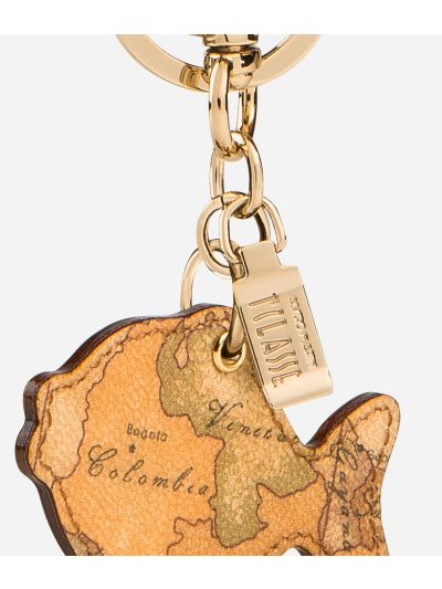 Geo Classic Fish shaped key ring