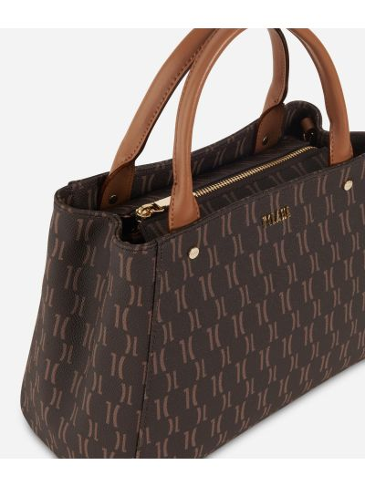 Monogram Small Handbag Dark Buff