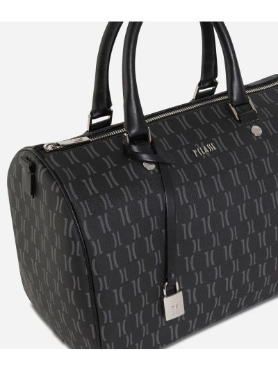 Monogram Satchel Bag Black