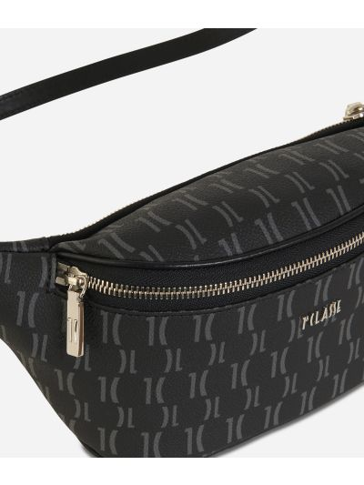 Monogram Belt Bag Black